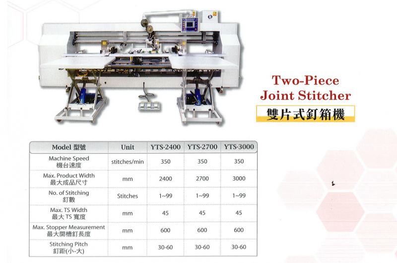 Two Piece Joint Stitcher