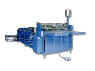 Máy dán thùng carton bán tự động