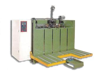 Máy đóng ghim bán tự động thùng carton